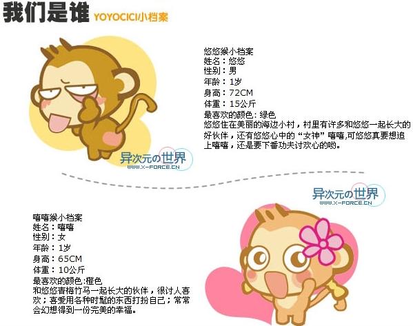 悠嘻猴QQ表情、头像、壁纸全集(2007.2.4更新)-异次元の新年大礼包