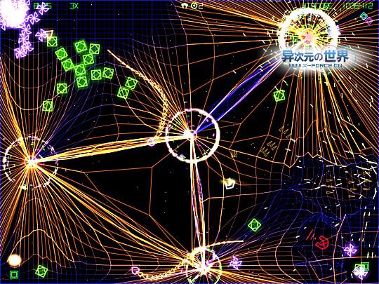 超炫丽射击小游戏系列No.2 - 网格战争 Grid Wars2