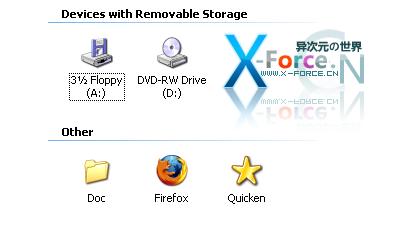 "Folder2MyPC-把常用的文件夹和程序快捷方式放进""我的电脑"""
