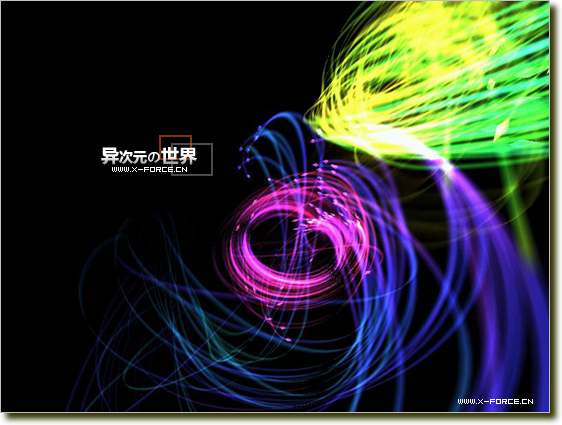 FireFlies - 炫彩幻光屏幕保护程序 [非常华丽的幻光屏保]