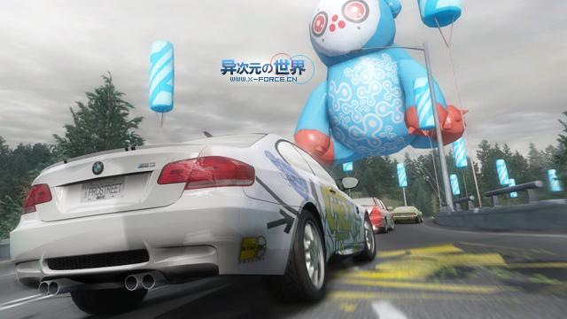 极品飞车11 专业街道赛(NeedForSpeed ProStreet) 中文免CD破解版高速下载