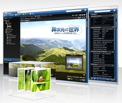 PictoMio 华丽得一塌糊涂的免费3D看图工具 (包含图片浏览、管理与相册制作等功能)