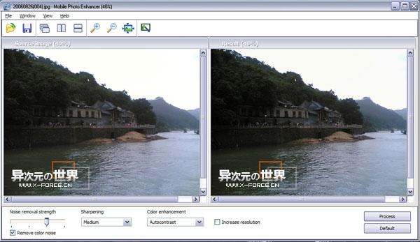 手机照片质量优化工具 Mobile Photo Enhancer 让照片更清晰