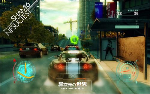 极品飞车12中文破解版下载 - 卧底风云(极道车神)