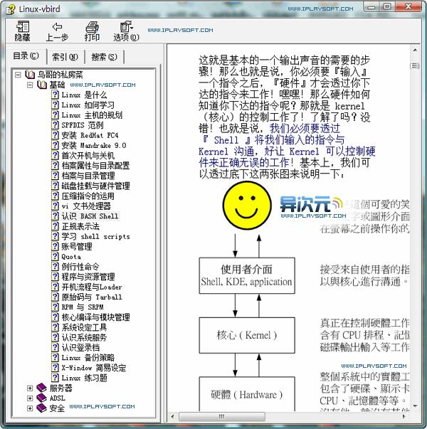 鸟哥的Linux私房菜CHM电子书
