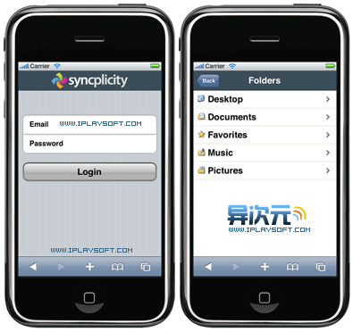 SyncPlicity 网络同步工具
