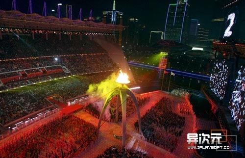 2010广州亚运开幕式高清视频