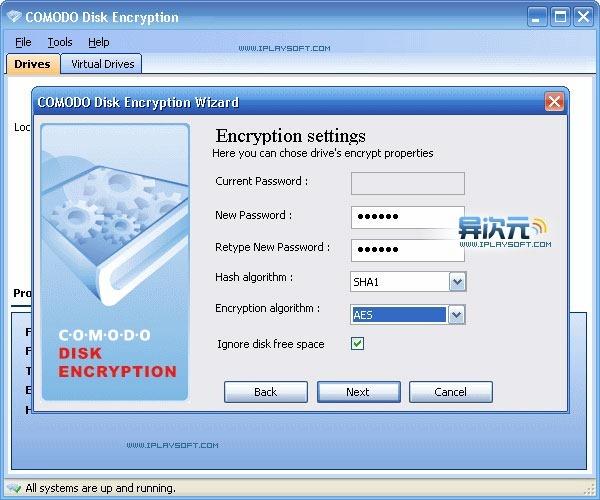 Comodo Disk Encryption