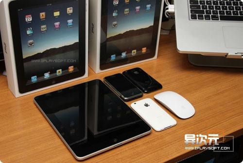 iPad 体积与iPhone对比