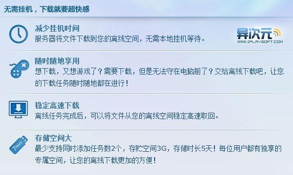 QQ旋风离线下载