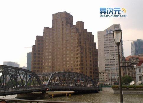 这个是我自己照的原图,上海外白渡桥