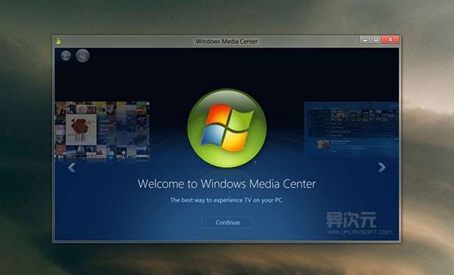Windows 8 Media Center 多媒体中心