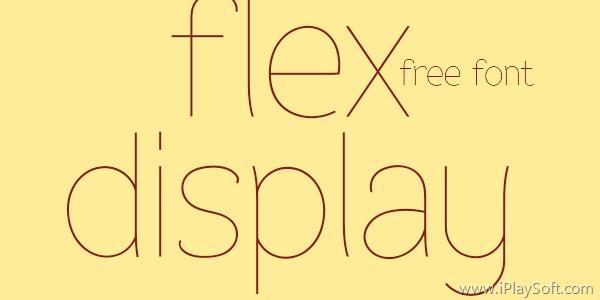 Flex Display