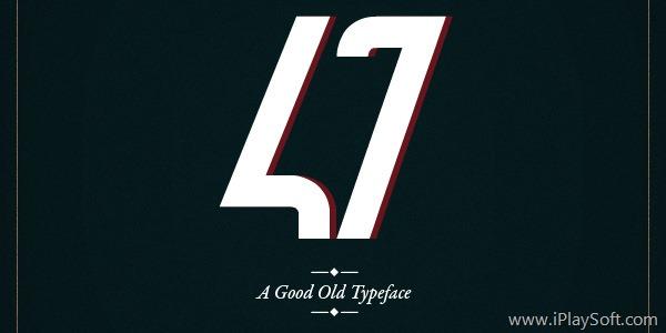47 - Typeface
