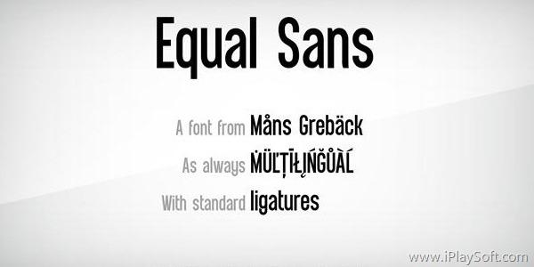 Equal Sans