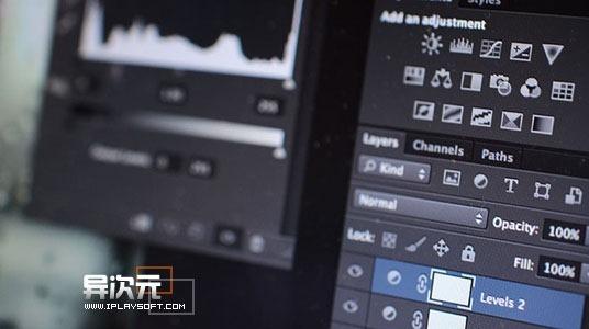 PhotoShop CS6 全新黑色的UI界面