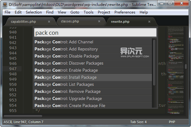 Package Control