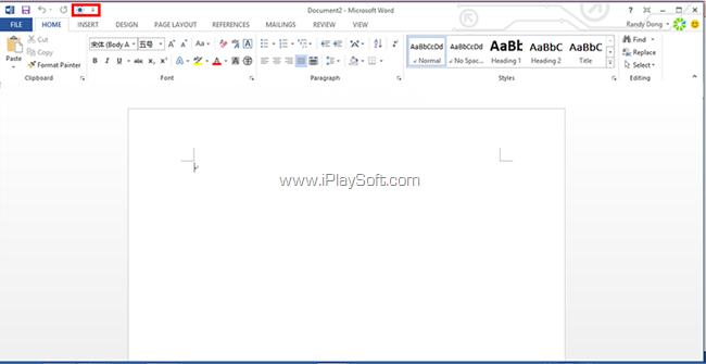 Office 2013 的功能区
