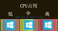 任务栏 CPU 资源监控