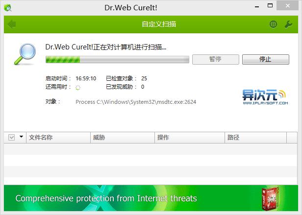 Dr.Web CureIt! 杀毒