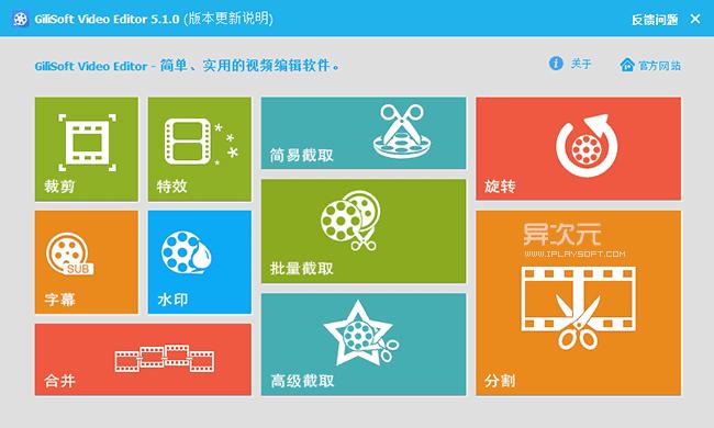 GiliSoft Video Editor 官方简体中文版截图