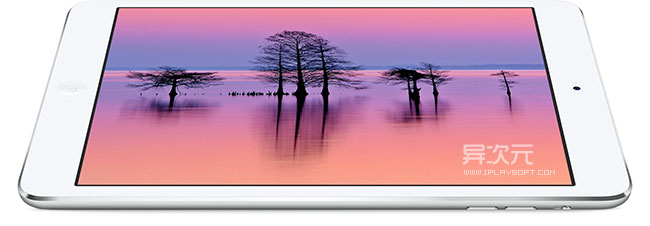 iPad mini 视网膜屏幕