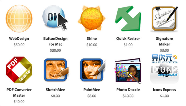 限时免费 Mac 软件包