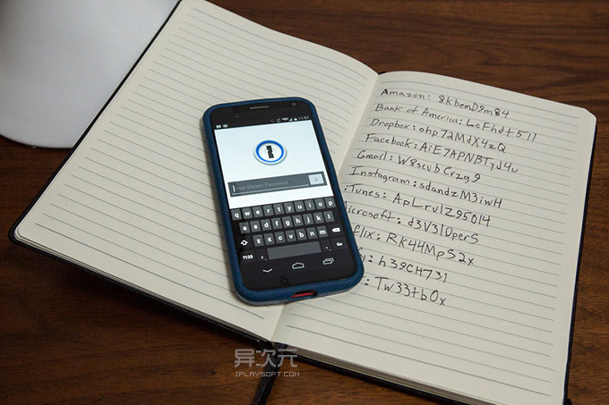 1Password 手机版