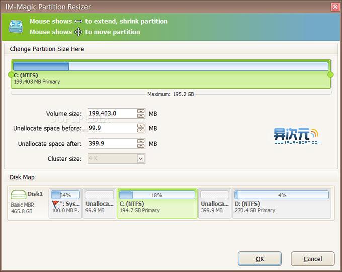 IM-Magic Partition Resizer Pro