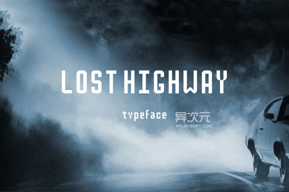 Lost Highway 字体