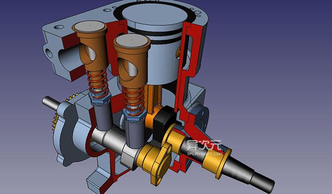 CAD 3D 模型