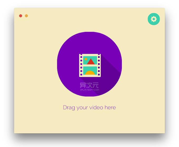 GifRocket 简单视频转换 GIF 软件