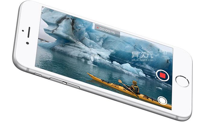 iPhone 6s Plus 4K视频