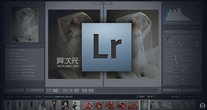 Adobe Lightroom 照片后期制作软件