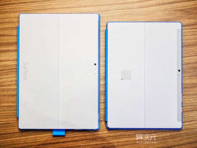 Surface Pro 3 对比