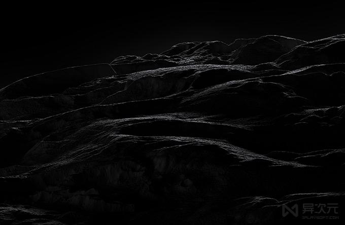 高清黑色壁纸