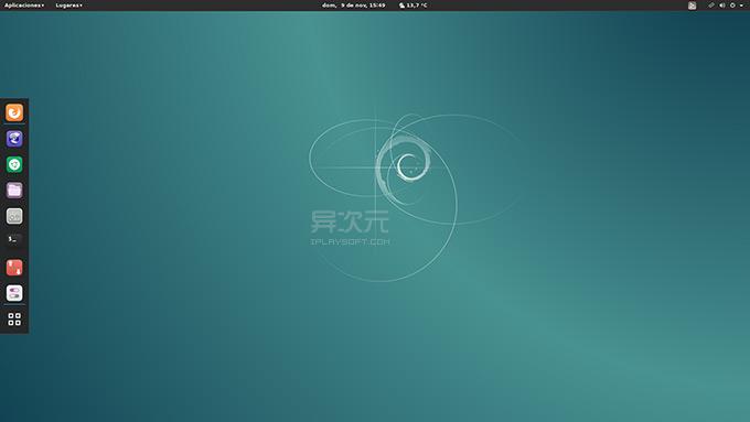 Debian 桌面