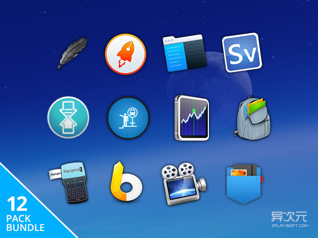 Mac Bundle 正版软件促销