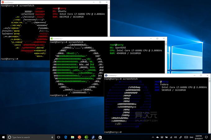 Windows Linux 子系统