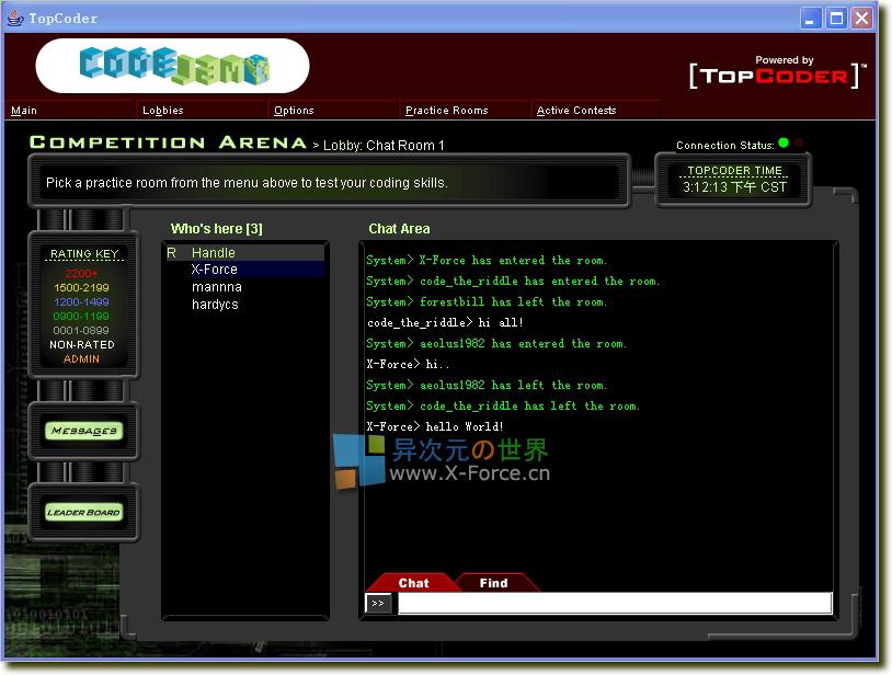 杂谈┊报名参加了Google™ Code Jam 2006 世界编程挑战赛