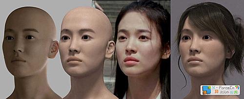 惊叹!打造著名女星宋慧乔完美CG映像