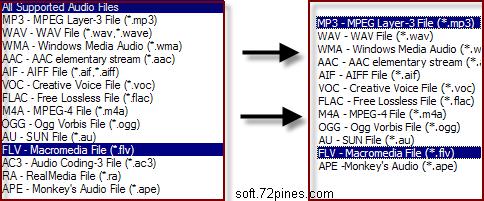 免费音频格式转换专家下载 Pepsky Free Audio Converter 官方简体中文版
