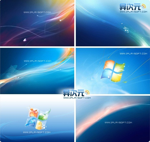 Windows7未收录的被拒壁纸