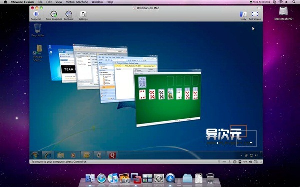 VMWare Fusion 安装 Windows7 教程