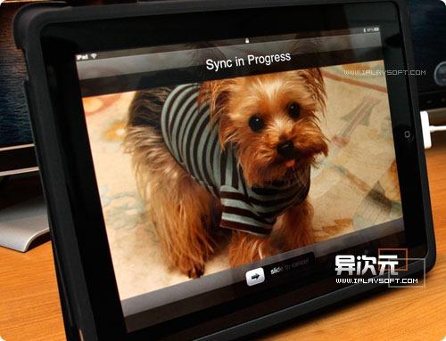 iPad 屏幕