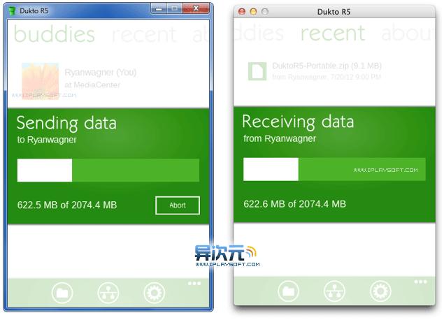 Windows 和 Mac 系统跨平台传输文件
