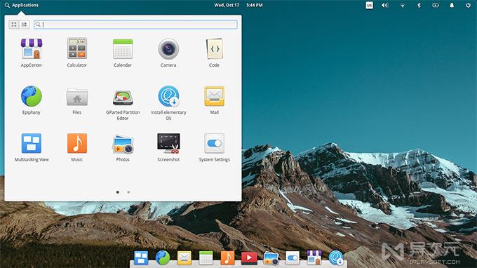 Elementary OS 桌面设计