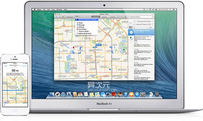 Mac 地图