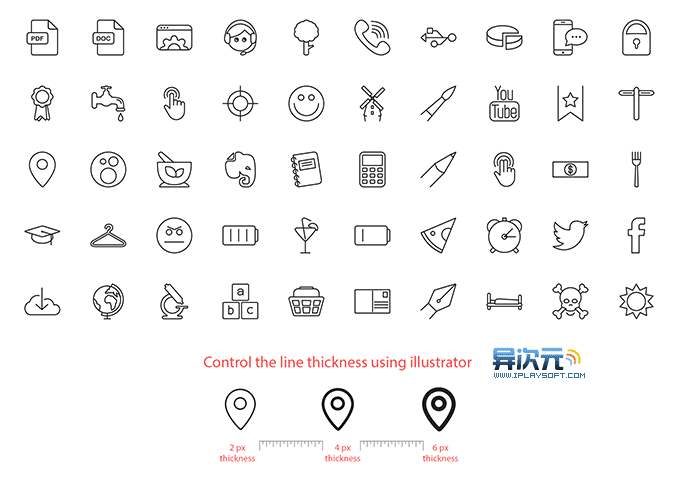 Vetor Line Icons