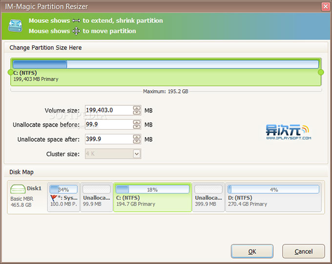 IM-Magic Partition Resizer Pro